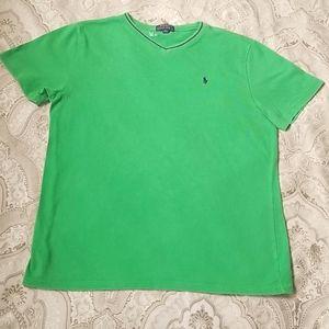 Green Ralph Lauren tshirt